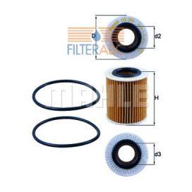 MAHLE ORIGINAL OX386D olajszűrő