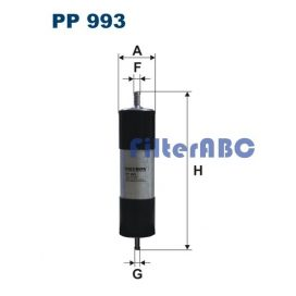 FILTRON PP993 üzemanyagszűrő