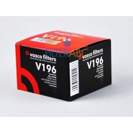 VASCO FILTERS V196 olajszűrő