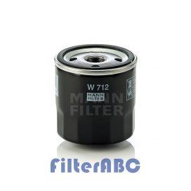MANN FILTER W712 olajszűrő