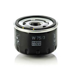 MANN FILTER W75/3 olajszűrő - 2007.09. hónapIG gyártott modellekhez
